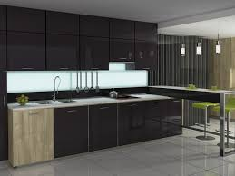 Black Kitchen Wall Cabinets Kitchen Amazing Black Glass Kitchen Cabinet Doors Grey Ceramic