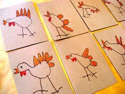 happy thanksgiving turkey cards things to make and do crafts
