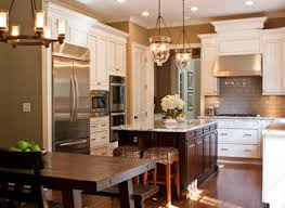 Traditional Kitchen Island Lighting Kitchen Island Cabinets Kitchen Traditional With Beige Cabinets