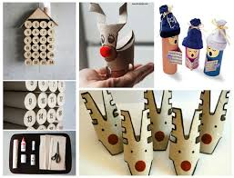10 christmas craft projects made out of upcycled toilet paper