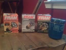 nissan titan oil filter fram fram ultra pics u0026 fram comparison fits honda engine oil