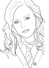coloring download hermione granger coloring pages hermione
