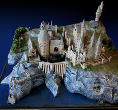 Hogwarts by Hogwarts Paper Model And You Can Download It For Free Just Go To