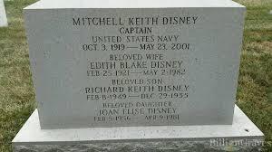 grave site of richard keith disney 1949 1955 billiongraves