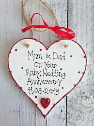 wedding anniversary plaques best 25 ruby wedding anniversary gifts ideas on ruby