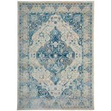 Blue Area Rugs 5x8 5 X 7 Blue Area Rugs Rugs The Home Depot