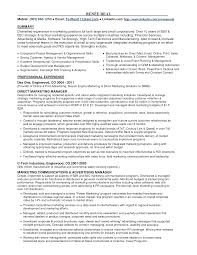 experienced resume sample resume samples for experienced marketing professionals resume