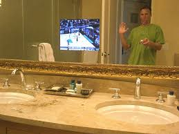 Mirror Tv Bathroom Bathroom Mirrors With Tv Bathroom Mirror Tv Uk Mysterylinks Info
