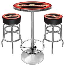 amazon com budweiser ultimate gameroom combo 2 bar stools u0026 pub