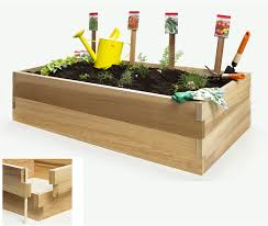 Garden Bench With Planters Raised Garden Vegetable Boxes By All Things Cedar Planter Kits