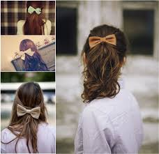 hair bow with hair 5 hairstyles for with extensions for hair