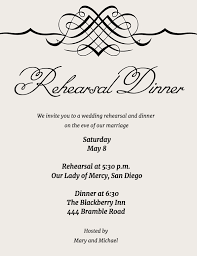 rehearsal and dinner invitation wording guide to rehearsal dinner invitation wording