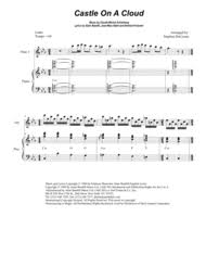 download castle on a cloud for flute choir sheet music by alain