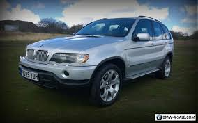 2001 bmw x5 for sale 2001 four wheel drive x5 for sale in united kingdom