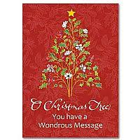 legend of the christmas wreath miracle of christmas card
