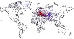 Where Is India On The Map by The Less Americans Know About Ukraine U0027s Location The More They