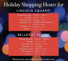 extended hours at the bellevue collection downtown