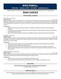 bank teller resume example sample template job description banker