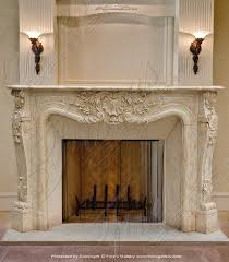 Shabby Chic Fireplace Mantels by 102 Best French Style Mantels Images On Pinterest Fireplace