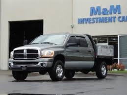 2006 dodge ram 2500 diesel for sale m m investment cars da2633 used trucks in portland oregon