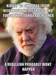 Funny Hunger Games Memes - hunger games logic weknowmemes
