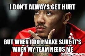 Derrick Rose Injury Meme - rose injury
