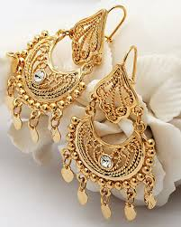 new fashion gold earrings beautiful gold earrings designs pak