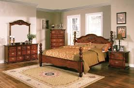 Natural Pine Bedroom Furniture by Cheap Rustic Bedroom Furniture Brown Plank Wood Frame Bed Corner