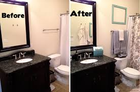 ideas for a bathroom makeover fresh bathroom makeovers on a small budget 13459