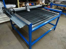 cnc plasma cutting table new 4x4 cnc plasma cutter table w bladerunner controls 6495