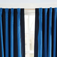 Rugby Stripe Curtains Interesting Rugby Stripe Curtains And Rug Stripe Blackout Drape