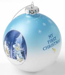 Baby S First Christmas Photo Bauble by Beatrix Potter Peter Rabbit U0026 Friends My First Christmas Bauble