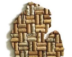 Upcycled Art - arizona state art wine gifts az state art arizona wall