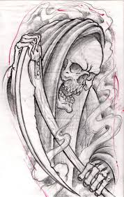 death tattoos and designs page 6