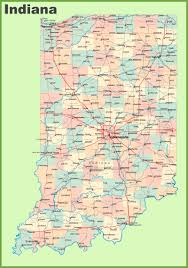 Map Of Tennessee Cities by Road Map Of Indiana With Cities