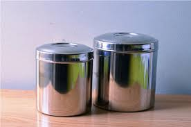 kitchen stainless steel canisters marissa kay home ideas