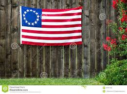 Betsy Ross Flags 13 Star American Flag The Betsy Ross Flag Stock Photo Image Of