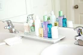 Bathroom Counter Shelves Bathroom Counter Organizer Home Design Gallery Www