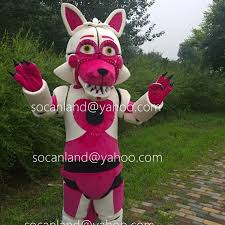 foxy costume fnaf location funtime foxy by cartoonmascotcostume on zibbet