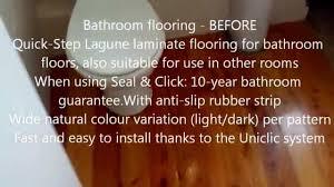 Is Laminate Flooring Suitable For Bathrooms Quick Step Lagune Ur946 Natural Varnished Oak Shipdeck Youtube