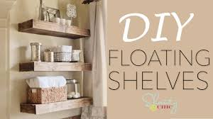 Building Floating Shelves by Diy Floating Shelves Shanty2chic Youtube