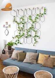 plant wall hangers indoor hanging wall glass fishbowl bread shaped plant flower vase for decor