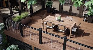 how to build a deck nz permadeck composite wood looks and feels like timber