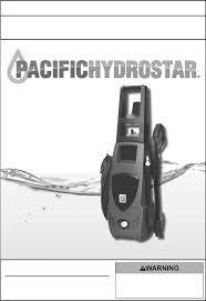 pacific hydrostar washers 1650 psi pdf owner u0027s manual free