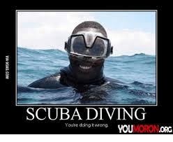 Scuba Meme - scuba diving you re doing it wrong you org scuba diving meme on me me
