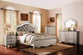 Padded Headboard King Upholstered Headboard King Bedroom Sets Glamorous Bedroom Design