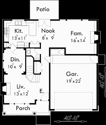 two story house plan two story craftsman plan with 4 bedrooms 40 ft wide x 40 ft
