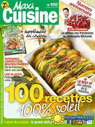 maxi cuisine magazine maxi cuisine juillet août 2015 no 100 pdf magazines