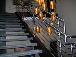 Steel Banister Rails Metal Stair Railings Interior Design Metal Stair Railing Ideas