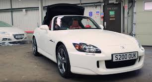 honda uk brings out s2000 from heritage collection autoevolution